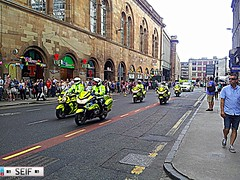 Convoy Police Glasgow2014 (seifracing) Tags: england rescue cars station scotland europe cops glasgow scottish police security east vehicles van emergency polizei commonwealth spotting services policia strathclyde scania armed polis x5 polizia ecosse 2014 seifracing