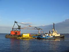 the final voyage of Neptune (Unimog1300L) Tags: hull riverhumber humberworkboats mortlift johndeantugs