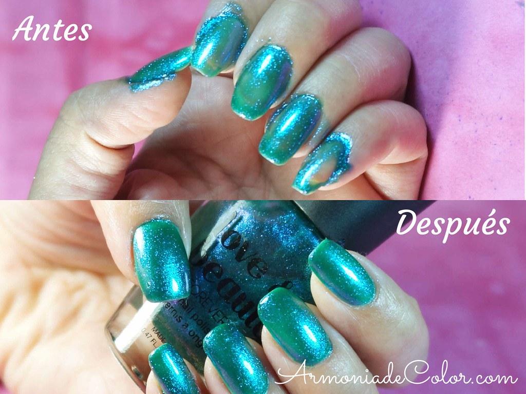 errores al pintarse las uñas 4