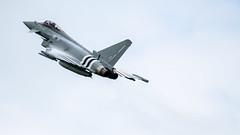 Typhoon1 (NickNeuenhaus) Tags: colour contrast speed plane 50mm high nikon time aviation military flight fast helicopter age 28 18 redarrows raf waddington d7000