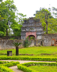 More ornamental gates at Hue, Vietnam (Pat L.314) Tags: architecture citadel historic vietnam hue cultural imperialcity nguyendynasty