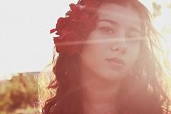sun flare (Markatanya(super busy)) Tags: portrait girl fashion photography german half filipino