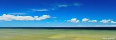 Summer Day - Explore (mswan777) Tags: vacation sky lake color beach water up clouds island nikon michigan north polarizer huron mackinac d5100