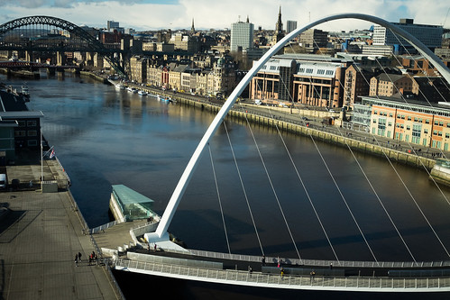 "Millenium Bridge, Newcastle • <a style=""font-size:0.8em;"" href=""http://www.flickr.com/photos/22350928@N02/32318279564/"" target=""_blank"">View on Flickr</a>"