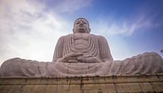 El Buda de treinta metros de alto (Nebelkuss) Tags: india asia bodhgaia bodhgaya buddhism buddhist budismo budista estatua statue escultura sculpture fujixt1 samyang12f2