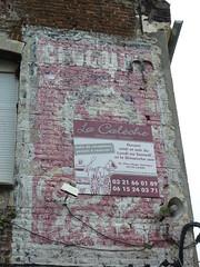 Chocolat Poulain (Sam Nimitz) Tags: lillers pasdecalais vieux old mur wall ghostsign publicité advertising peinture paint poulain chocolat chocolate