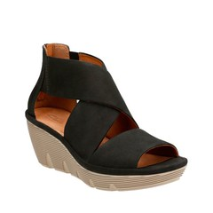 "Clarks Clarene Glamor sandal black • <a style=""font-size:0.8em;"" href=""http://www.flickr.com/photos/65413117@N03/32766983824/"" target=""_blank"">View on Flickr</a>"