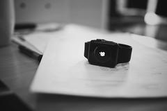 Details (borishots) Tags: apple applewatch bw blackandwhite monochromatic monochrome stilllife lifestyle bokeh bokehlicious bokehwhore borishots fujifilmxe2 fujinon23mmf14 papers