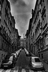 Sarajevo (Amsterdam_EF) Tags: sarajevo bosnia bosniaherzegovina bosna balkan europe black blackandwhite blackwhitephotos blackwhite hdr moody urban city cityscape urbanlife depressed cars dramatic urbanphotography