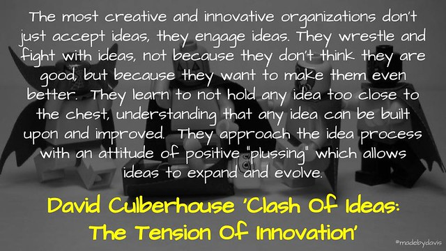 Clash of Ideas @dculberhouse