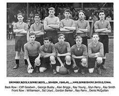 Derby Boys - 1948-49 (qay73xse) Tags: bygones football derby schools 1948 1949