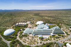 Biosphere 2 in the Desert (jeff_a_goldberg) Tags: universityofarizona aerialphotography biosphere drone dji mavic winter biospher2 djimavicpro mavicpro tucson arizona unitedstates us
