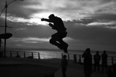 Air 1 (ignaciovidelahidalgo) Tags: chile shadow skate air blackandwhite bw nikon nikond3300 trick tome black white