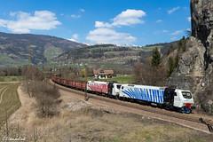 RTC EU 43 003 und EU 43 005 in Sterzing (TheKnaeggebrot) Tags: rtc lokomotion rail traction company eu43 eu43003 eu43005 sterzing vipiteno