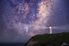 Lighthouse | Cape Schanck (Jake Richardson Photography) Tags: cape schanck flinders blowhole lighthouse mornington peninsula melbourne victoria australia cliff stars nebula lagoon light beams water ocean amazing wow nikon d610 celestron cpc800