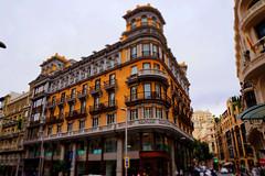 Calle Gran Vía (Miguel Angel Prieto Ciudad) Tags: coches architecture building españa sony spain tiltshift miniature arquitectura sonyalpha madrid