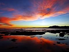 Reflejos en la orilla (Antonio Chacon) Tags: andalucia atardecer costadelsol cielo marbella málaga mar mediterráneo españa spain sunset