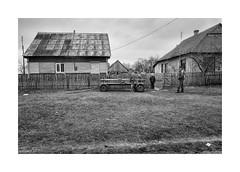 (Jan Dobrovsky) Tags: kids countryside leicaq people leica ukraine monochrome volyn blackandwhite outdoor countrylife village document street