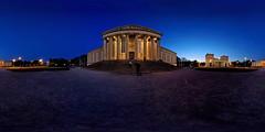 staatl.Antikensammlung_Pano (denzthomas) Tags: staatlicheantikensammlung münchen munich königsplatz kugelpanorama blauestunde