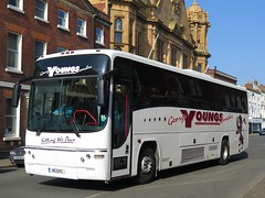 George Young's Coaches: A5GYC - 08-04-17 (peter_b2008) Tags: georgeyoungscoaches hereford volvo b12m plaxton paragon a5gyc wk52svu transport buspictures