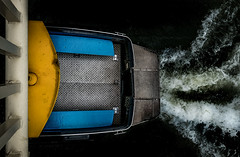 (Kijkdan) Tags: rotterdam boats fuji abstract bridge xpro2 16mm fujifilm fujinon