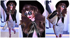SWANK March 04: You Said My Hair Was Brown And Long (Hanna Luna Naimarc: MVD♛ 2016 & MVW♛ Chile 20) Tags: new post blog blogger charlottesometimes lyrics aeiou event swank fashion style alter brand hollywood hollywoodglamour glam glamour celebrity celebutante chic modern hannahluna