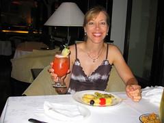 Dinner at the InterCon (rougetete) Tags: indonesia bali denpasar westnusatenggara islandparadise birthdaytrip milestonebirthdaytrip 50 50thbday intercontinentalhotelbali intercontinentalhotel jimbaranbeach
