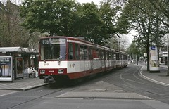 Rheinbahn (Düsseldorf) Stadtbahn car 4005 Krefeld (jc_snapper) Tags: rheinbahn düsseldorf krefeld metro strassenbahn tram tramway tramvaj tramvaje tranvie tranvia streetcar stadtbahn duewagtram duewag düwag stadtbahnb