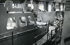 Uusia rannikkovartioveneitä valmistuu (The Museum of Finnish Coast Guard) Tags: merivartija merivartijat meri merivartioasemat vene laiva kalusto 1973