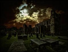 Destinies (Lato-Pictures) Tags: kathdrale cathedral scotland schottland elgin night mond schiksal destinies outdoor