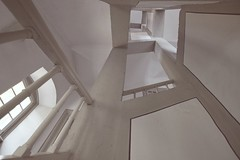Escher-esque [EXPLORE 2017-04-22] (pix-4-2-day) Tags: marktbreit seinsheimsches schloss treppe wendeltreppe stairs staircase spiral kafkaesque highkey perspective up architecture architektur escheresque escher