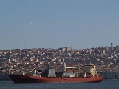 'Sirius' container ship, Gulf of Izmir, Turkey (Steve Hobson) Tags: container ship sirius gulf izmir turkey