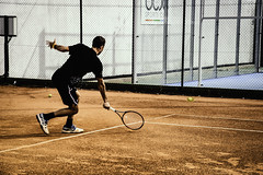 MoViMiEnTo (alexpapad) Tags: tennis player spain madrid juego europe people movement movimiento κινηση ισπανια μαδριτη παιχτησ τεννισ τενισ match day photography photo nikon d750 camera