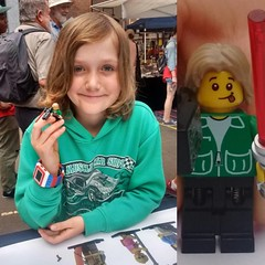 A big thank you to everyone that came along and supported us yesterday! A special shout out to Kaius who created some cool figures! #brickyourself #brickmandan #makeyourselfinlego #lego #glebemarkets