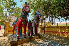 Village Gods @ Manthurai-Trichirapalli (Lakshmi. R.K.) Tags: nikon d 5200 tokina 1116mm 2017 trichy lalgudi manthurai