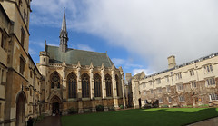 Exeter College, Oxford (AnthonyR2010) Tags: exetercollege exeter oxford college university architecture building georgegilbertscott chapel church quadrangle gradeilistedbuilding ebb