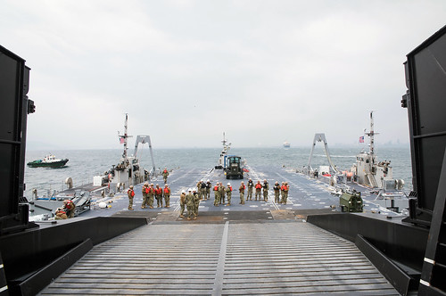 Multi-faceted logistics exercise in South Korea enhances combined capabilities