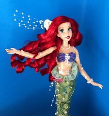 Ariel à la Mode (Richard Zimmons) Tags: ariel doll mermaid disney store barbie mattel princess redhead costume special limited edition dfdc designer walt
