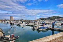 Puerto deportivo de Ceuta 4 (anyera2015) Tags: ceuta canon canon70d hdr puerto barco velero nublado nubes