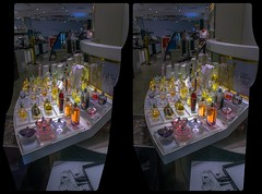 Perfume & cigarettes 3-D / Stereoscopy / CrossEye / HDR / Raw (Stereotron) Tags: berlin spreeathen mitte metropole hauptstadt capital metropolis brandenburg city urban display window front shopping showcase shopwindow parfume perfumery scent night europe germany quietearth 3dframe fancyframe floatingwindow spatialframe stereowindow crosseye crosseyed crossview xview cross eye pair freeview sidebyside sbs kreuzblick 3d 3dphoto 3dstereo 3rddimension spatial stereo stereo3d stereophoto stereophotography stereoscopic stereoscopy stereotron threedimensional stereoview stereophotomaker stereophotograph 3dpicture 3dglasses 3dimage canon eos 550d singlelens kitlens 1855mm tonemapping hdr hdri raw availablelight
