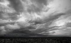 Namibia Etosha (Sas & Rikske) Tags: ericbruyninckx namibië rain season storm black white landscape regen national park canon1022mm