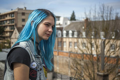 _MG_3361 (LennyW) Tags: urbex france girl blue hair city canon 5d 5 d mark 2 ii mk2 mkii 2880 28 80 f3556 f35 35 f56 56 usm electric model digital eos