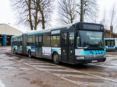 Renault Agora L - TCAT 227 (Pi Eye) Tags: bus autobus troyes tcat renault irisbus agora agoral articulé gelenk