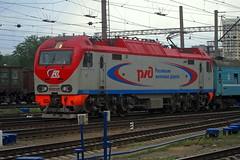 EP2K-023 (zauralec) Tags: yekaterinburgpassenger station ржд rzd локомотив электровоз станция екатеринбург поезд эп2к ep2k