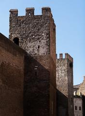 Walls Tiburtina (Robert Barone) Tags: italia italy micro43 panasonicgm1 roma rome tiburtina ancientrome architecture commute walls