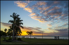 Sunset over Deception Bay-1=