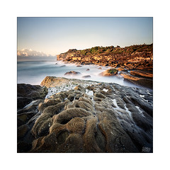 Morning Walk (Mike Hankey.) Tags: clear landscape focus sunrise lowtide yena published