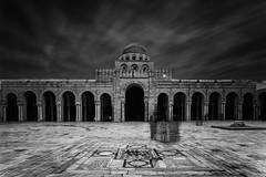 KAIROUAN (Ben Gharbia Mehdi) Tags: blackandwhite black mosquee religion white tunisia tunis kairouan africa street long exposure ciel batiment architecture architecte
