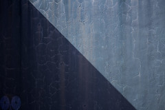 An abstract in blue (occhio-x-occhio) Tags: abstract rough watermark blue morning web street cement oxo rome decay wall pinterest g fb