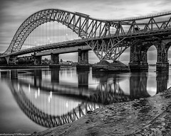 Runcorn Bridge reflections (5 of 5) (andyyoung37) Tags: reflections runcorn runcornbridge uk waterreflections widnes cheshire rivermersey england unitedkingdom gb